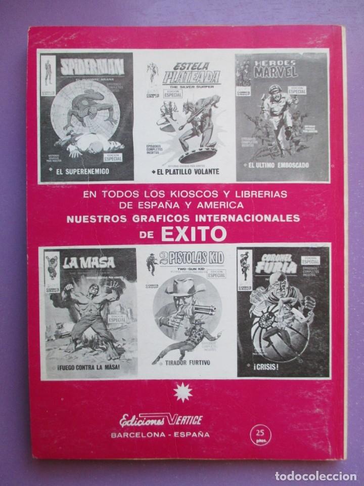 Cómics: EL JINETE FANTASMA Nº 1 VERTICE TACO ¡¡¡MUY BUEN ESTADO !!!!!! - Foto 2 - 181086500