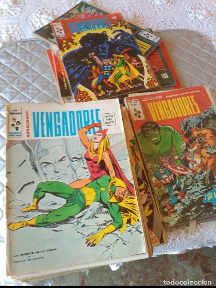 LOS VENGADORES VOL.2 COMPLETA 50 NÚMEROS EN MUY BUEN ESTADO.VERTICE (Tebeos y Comics - Vértice - Vengadores)