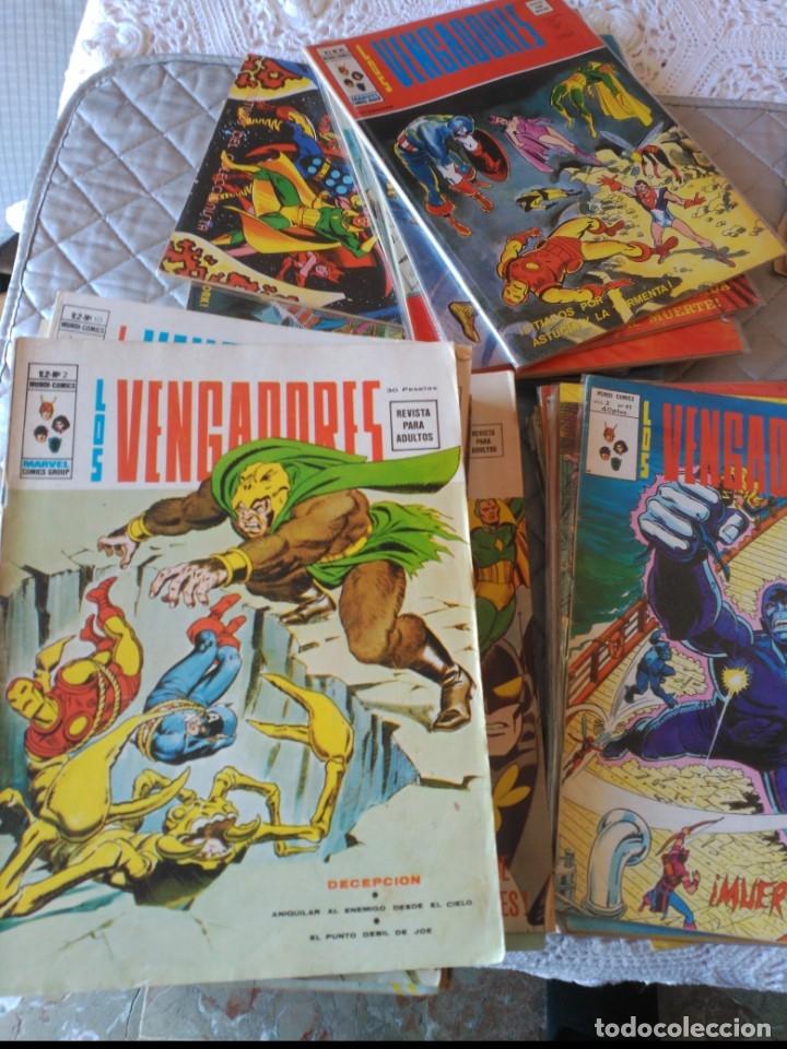 Cómics: Los Vengadores Vol.2 COMPLETA 50 números en MUY BUEN ESTADO.VERTICE - Foto 2 - 181143627