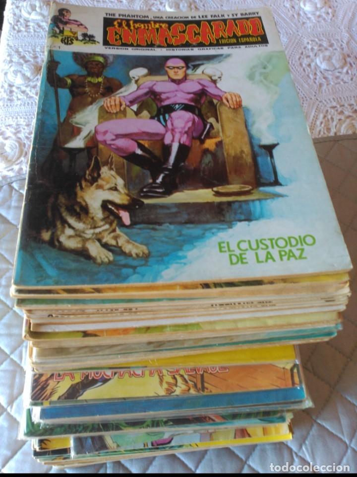 EL HOMBRE ENMASCARADO VOL.1 COMPLETA 56 NÚMEROS EN MUY BUEN ESTADO.VERTICE (Tebeos y Comics - Vértice - Hombre Enmascarado)