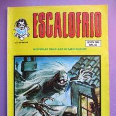 Cómics: ESCALOFRIO Nº 61 VERTICE ¡¡¡¡ BUEN ESTADO Y MUY DIFICIL !!!!!!. Lote 181147460