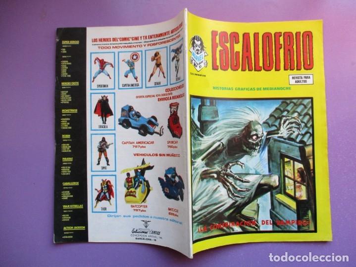 Cómics: ESCALOFRIO Nº 61 VERTICE ¡¡¡¡ BUEN ESTADO Y MUY DIFICIL !!!!!! - Foto 3 - 181147460