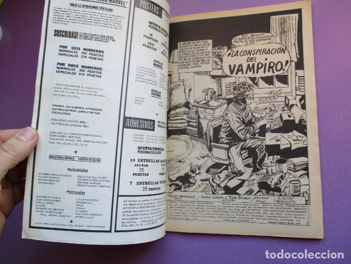 Cómics: ESCALOFRIO Nº 61 VERTICE ¡¡¡¡ BUEN ESTADO Y MUY DIFICIL !!!!!! - Foto 4 - 181147460