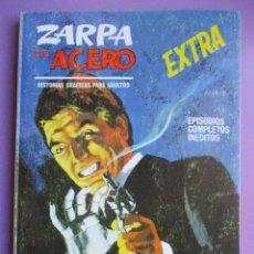 Cómics: ZARPA DE ACERO Nº 11 VERTICE TACO ¡¡¡¡ BASTANTE BUEN ESTADO !!!!!!. Lote 181156797