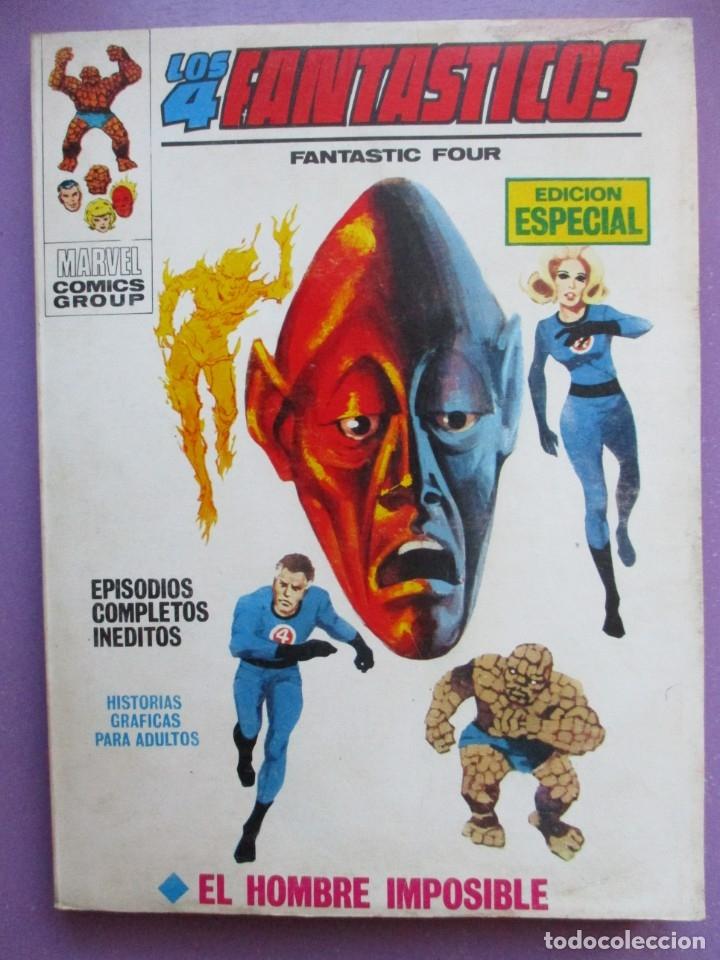 LOS 4 FANTASTICOS Nº 6 VERTICE TACO ¡¡¡¡ BUEN ESTADO !!!!!! (Tebeos y Comics - Vértice - V.1)