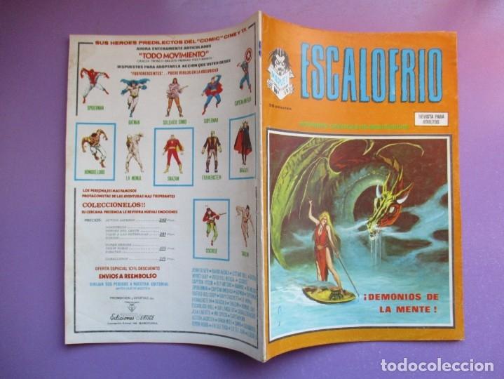 Cómics: ESCALOFRIO Nº 59 VERTICE ¡¡¡¡ BUEN ESTADO !!!!!! - Foto 3 - 181157356