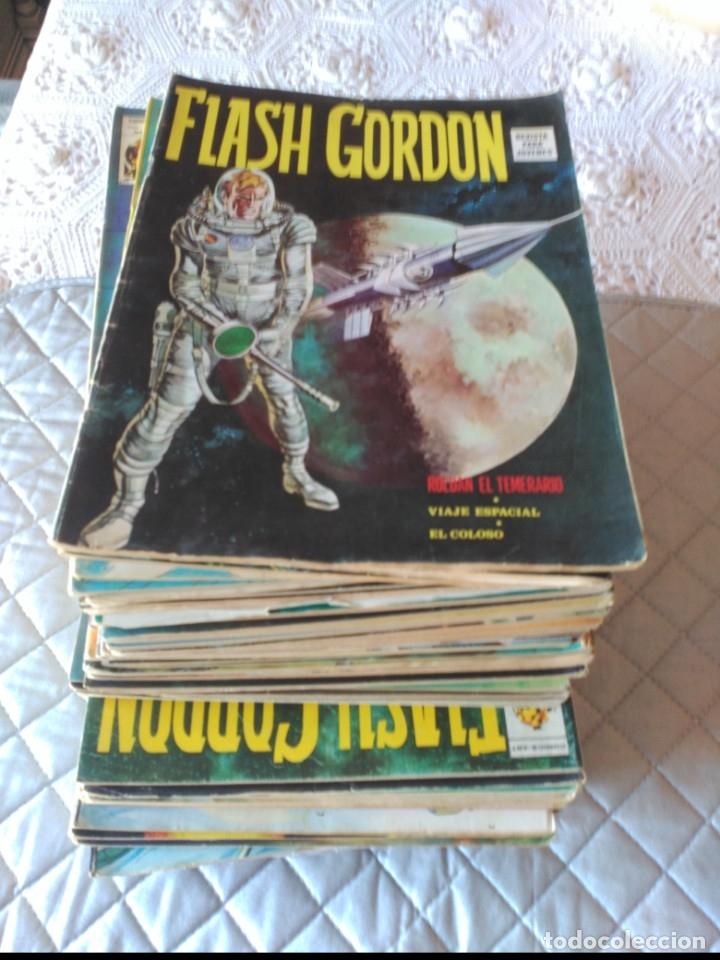 FLASH GORDON VOL. 1 COMPLETA 44 NÚMEROS (Tebeos y Comics - Vértice - Flash Gordon)
