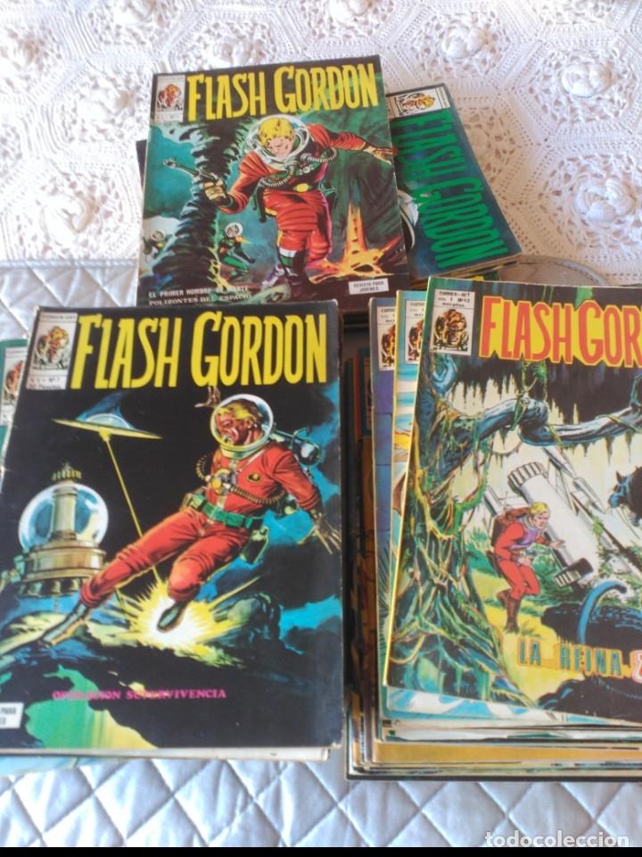 Cómics: Flash Gordon Vol. 1 COMPLETA 44 números - Foto 2 - 181191498