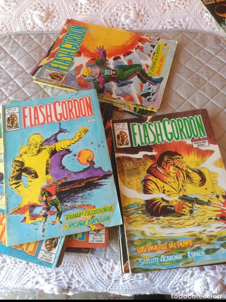 Cómics: Flash Gordon Vol. 2 26 números del 1 al 25 y el Nº 31 - Foto 2 - 181191751