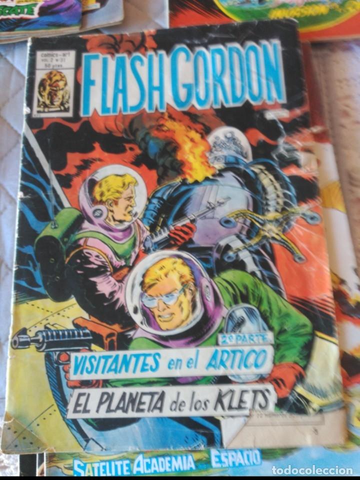 Cómics: Flash Gordon Vol. 2 26 números del 1 al 25 y el Nº 31 - Foto 4 - 181191751