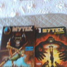 Cómics: MYTEK SURCO COMPETA EN 2 RETAPADOS DEL Nº 1 AL 11 DIFÍCIL. Lote 181192691