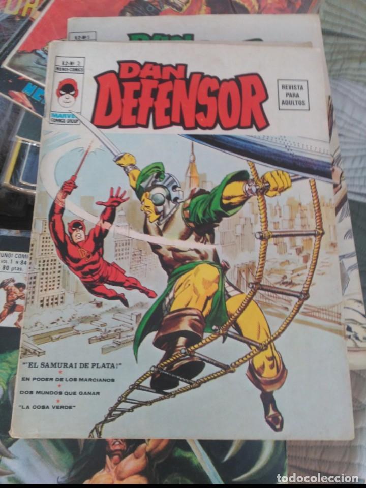DAN DEFENSOR VOL.2 Nº 2 MUY DIFÍCIL.MUY BUEN ESTADO VERTICE (Tebeos y Comics - Vértice - Dan Defensor)