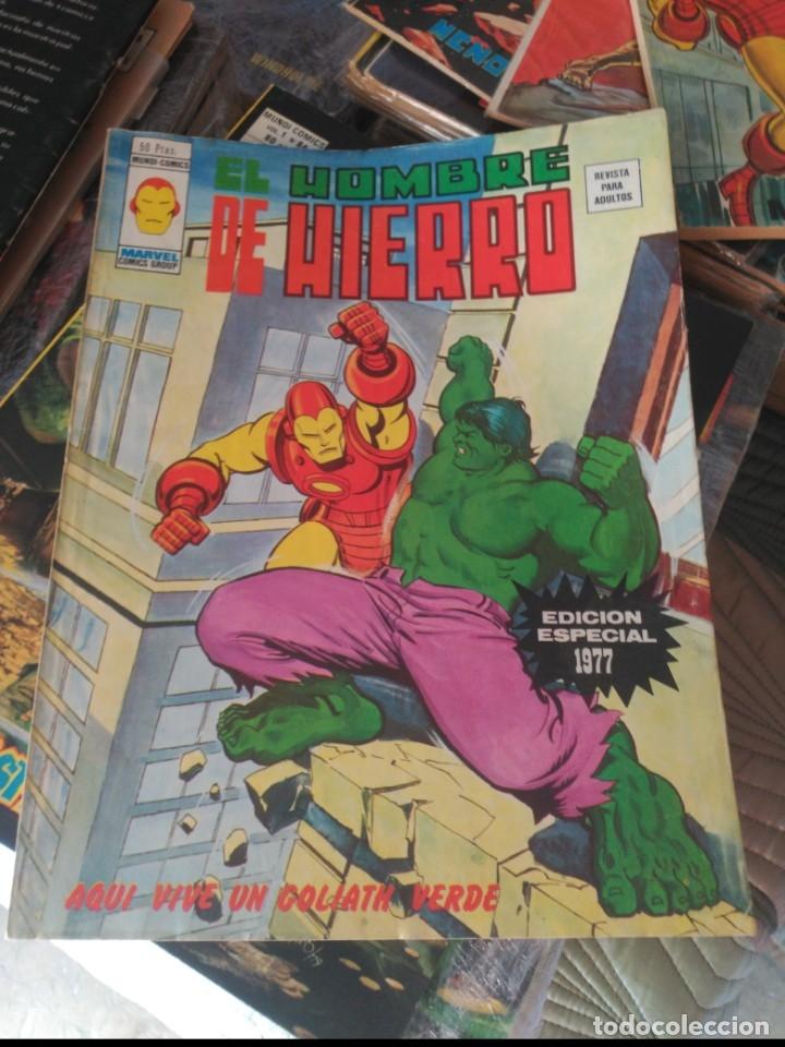 EL HOMBRE DE HIERRO ESPECIAL 1977 MUY BUEN ESTADO (Tebeos y Comics - Vértice - Hombre de Hierro)