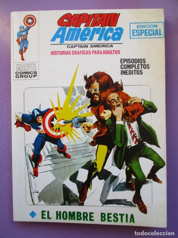 CAPITAN AMERICA Nº 8 VERTICE TACO ¡¡¡¡ EXCELENTE ESTADO !!!!!! (Tebeos y Comics - Vértice - V.1)