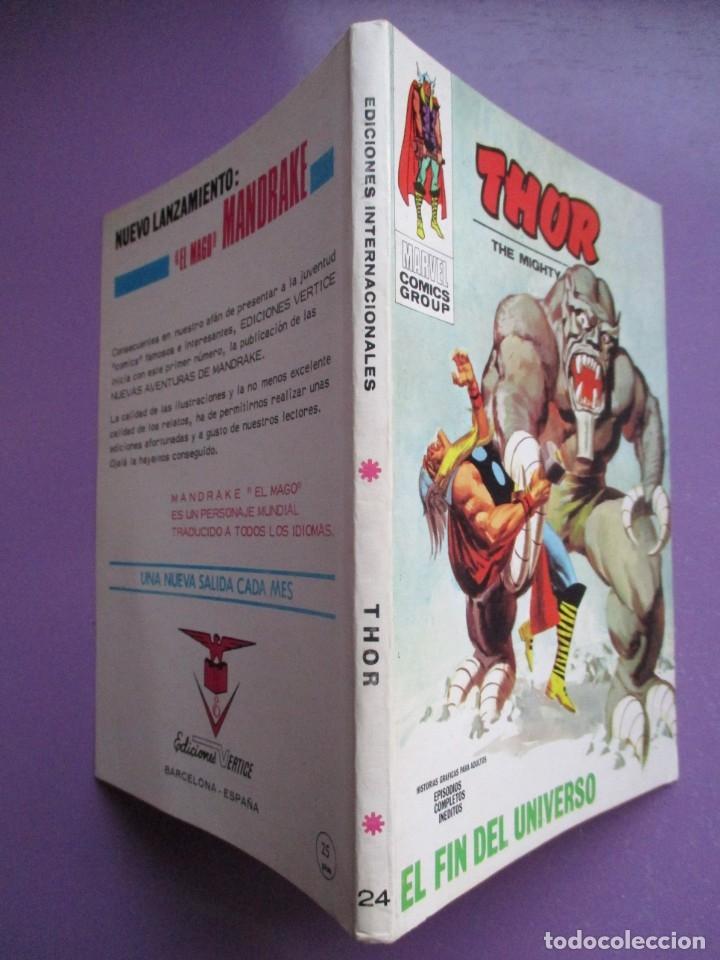 Cómics: THOR VERTICE TACO ¡¡¡¡MUY BUEN ESTADO !!!!!! COLECCION COMPLETA - Foto 100 - 181222665