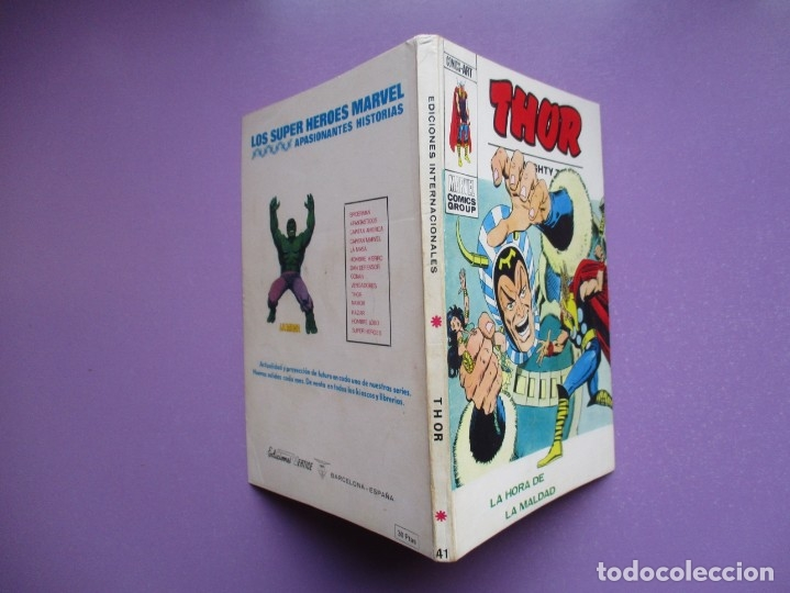Cómics: THOR VERTICE TACO ¡¡¡¡MUY BUEN ESTADO !!!!!! COLECCION COMPLETA - Foto 168 - 181222665
