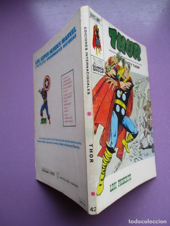 Cómics: THOR VERTICE TACO ¡¡¡¡MUY BUEN ESTADO !!!!!! COLECCION COMPLETA - Foto 172 - 181222665