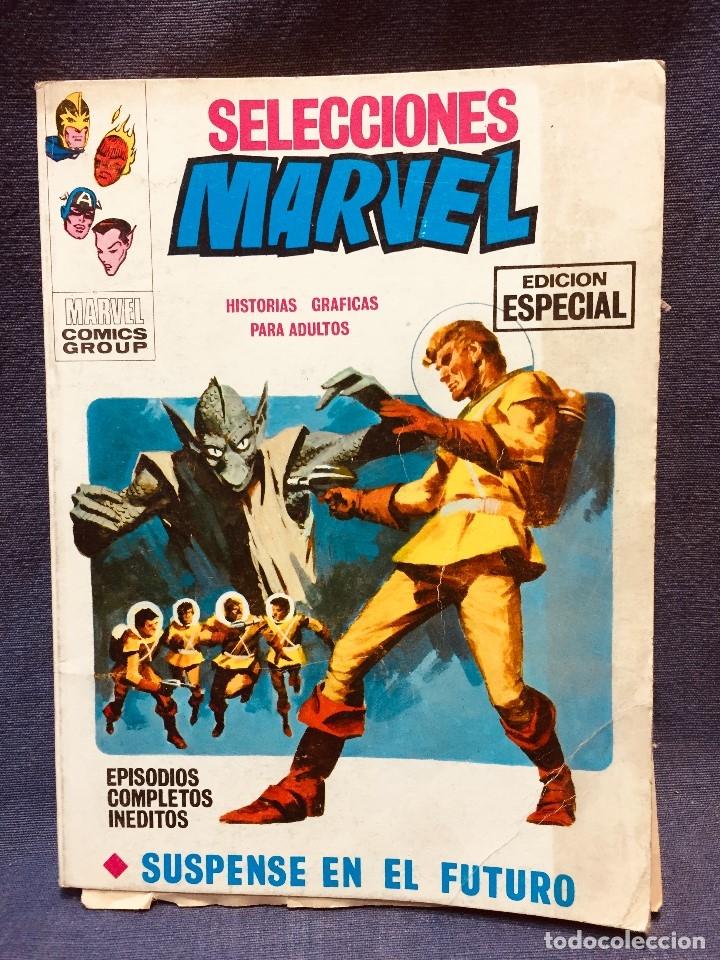 SELECCIONES MARVEL COMICS GROUP VERTICE EDICION ESPECIAL SUSPENSE EN EL FUTURO BUEN ESTADO 20,5X15C (Tebeos y Comics - Vértice - Otros)