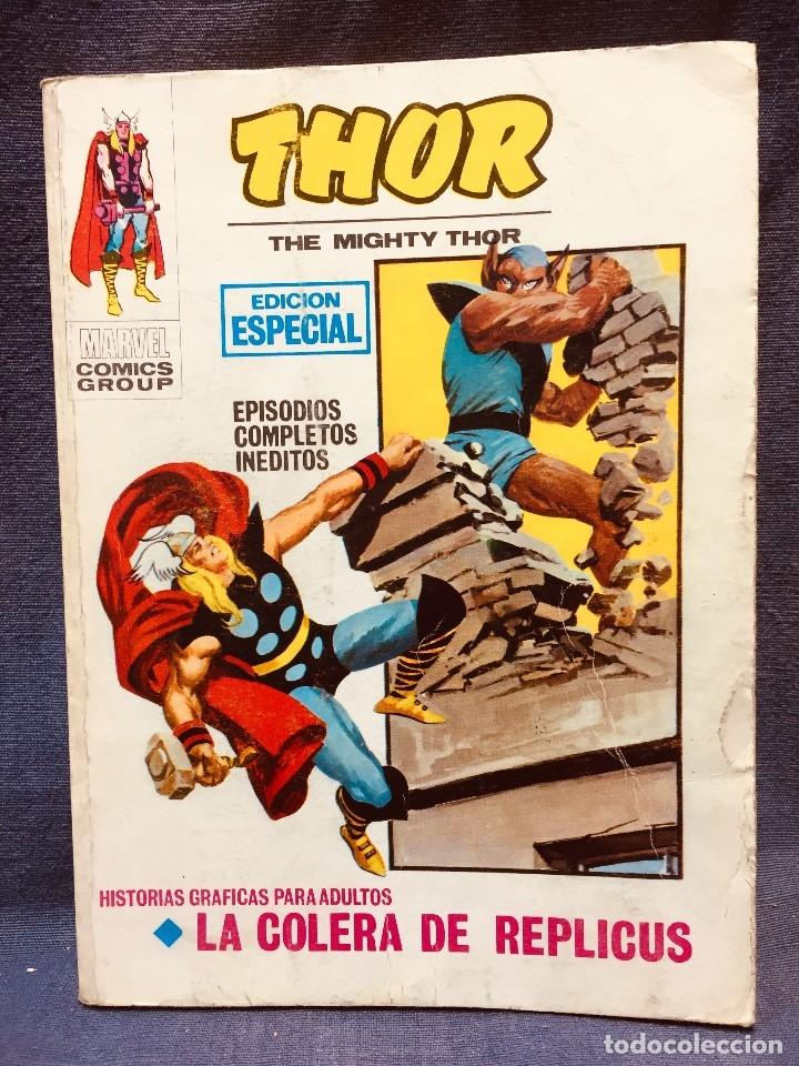 SELECCIONES MARVEL COMICS GROUP VERTICE EDICION ESPECIAL THOR COLERA DE REPLICUS 20,5X15C (Tebeos y Comics - Vértice - Otros)