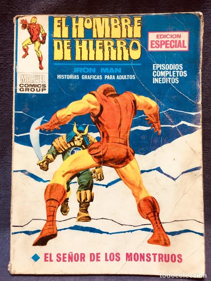 SELECCIONES MARVEL COMICS GROUP VERTICE EDICION ESPECIAL SEÑOR DE LOS MONSTRUOS IRON MAN 20,5X15C (Tebeos y Comics - Vértice - Otros)