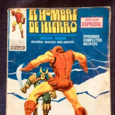 Cómics: SELECCIONES MARVEL COMICS GROUP VERTICE EDICION ESPECIAL SEÑOR DE LOS MONSTRUOS IRON MAN 20,5X15C. Lote 181608497
