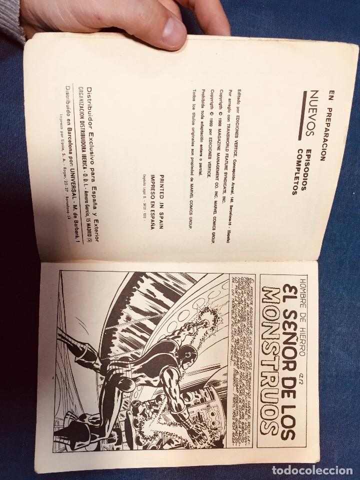 Cómics: selecciones marvel comics group vertice edicion especial señor de los monstruos iron man 20,5x15c - Foto 8 - 181608497