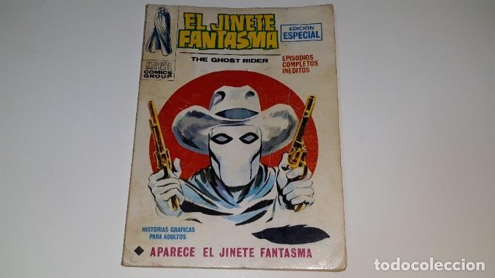 VERTICE - EL JINETE FANTASMA - GHOST RIDER Nº 1 V. 1 - APARECE EL JINETE FANTASMA - AÑO 1972 (Tebeos y Comics - Vértice - V.1)