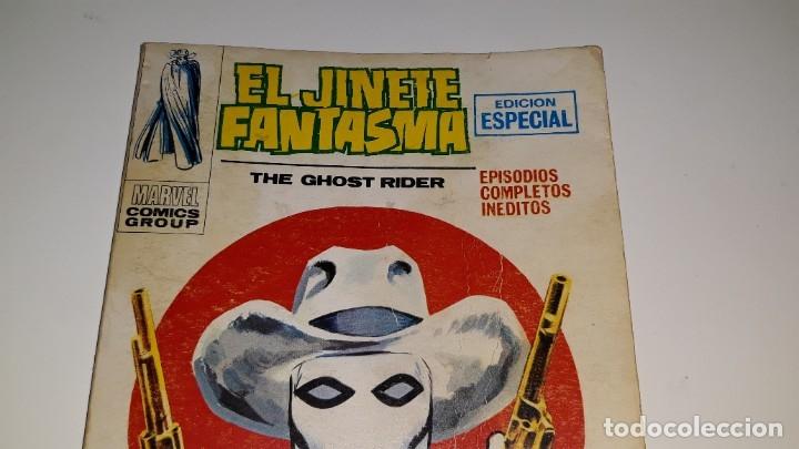 Cómics: VERTICE - EL JINETE FANTASMA - GHOST RIDER Nº 1 V. 1 - APARECE EL JINETE FANTASMA - AÑO 1972 - Foto 3 - 181674447