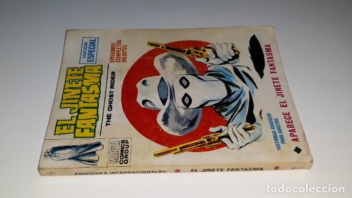 Cómics: VERTICE - EL JINETE FANTASMA - GHOST RIDER Nº 1 V. 1 - APARECE EL JINETE FANTASMA - AÑO 1972 - Foto 4 - 181674447