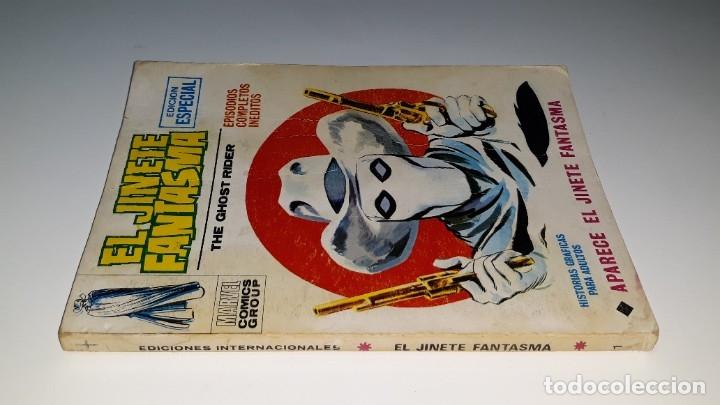 Cómics: VERTICE - EL JINETE FANTASMA - GHOST RIDER Nº 1 V. 1 - APARECE EL JINETE FANTASMA - AÑO 1972 - Foto 5 - 181674447