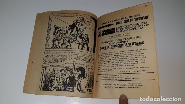 Cómics: VERTICE - EL JINETE FANTASMA - GHOST RIDER Nº 1 V. 1 - APARECE EL JINETE FANTASMA - AÑO 1972 - Foto 9 - 181674447