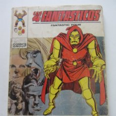 Cómics: LOS 4 FANTASTICOS VOL 1 Nº 43 - TODOS VICTIMAS - VÉRTICE CX28. Lote 181941905