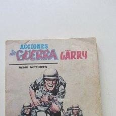 Cómics: ACCIONES DE GUERRA CON GARRY Nº 4 TACO VERTICE CX28. Lote 181992908