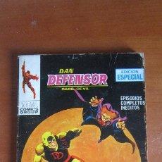 Cómics: DAN DEFENSOR Nº 9 - VERTICE TACO - 128 PAGINAS. Lote 182013172