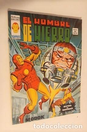 EL HOMBRE DE HIERRO - EXTRA DE NAVIDAD - MODOK (Tebeos y Comics - Vértice - Hombre de Hierro)