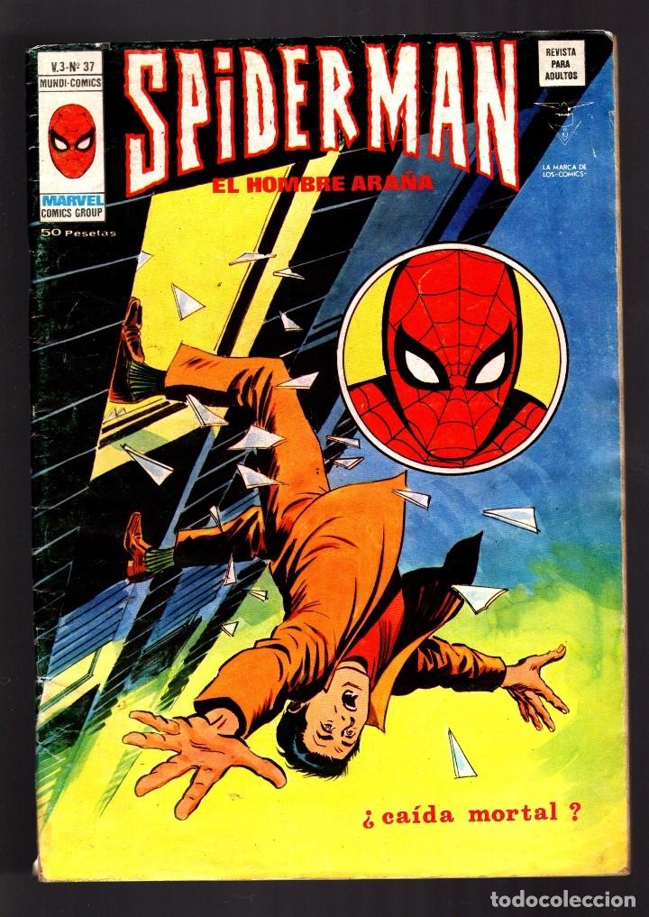 SPIDERMAN 37 VOL 3 - VERTICE VG/FN (Tebeos y Comics - Vértice - V.3)