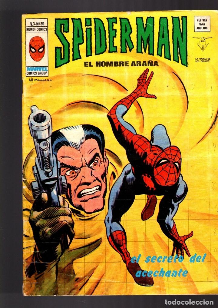 SPIDERMAN 39 VOL 3 - VERTICE VG (Tebeos y Comics - Vértice - V.3)