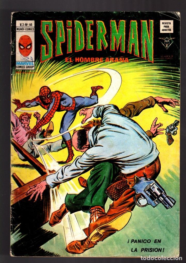 SPIDERMAN 46 VOL 3 - VERTICE VG+ (Tebeos y Comics - Vértice - V.3)