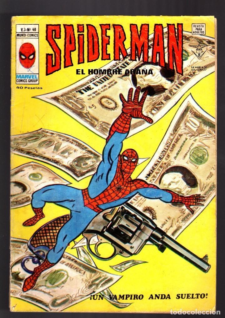 SPIDERMAN 48 VOL 3 - VERTICE VG (Tebeos y Comics - Vértice - V.3)