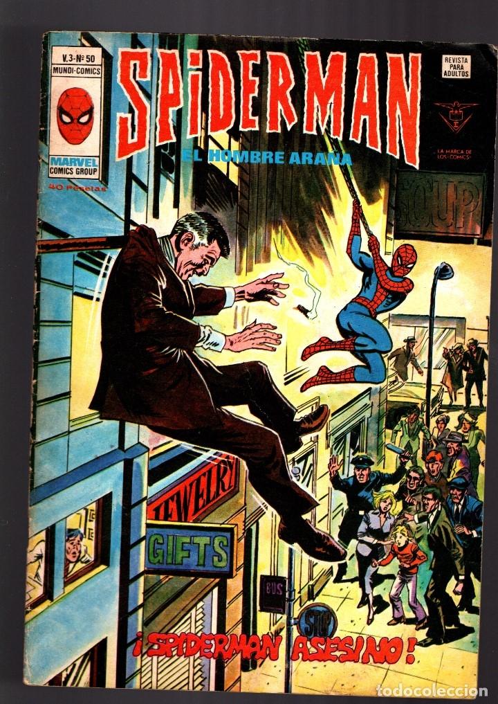 SPIDERMAN 50 VOL 3 - VERTICE VG/FN (Tebeos y Comics - Vértice - V.3)
