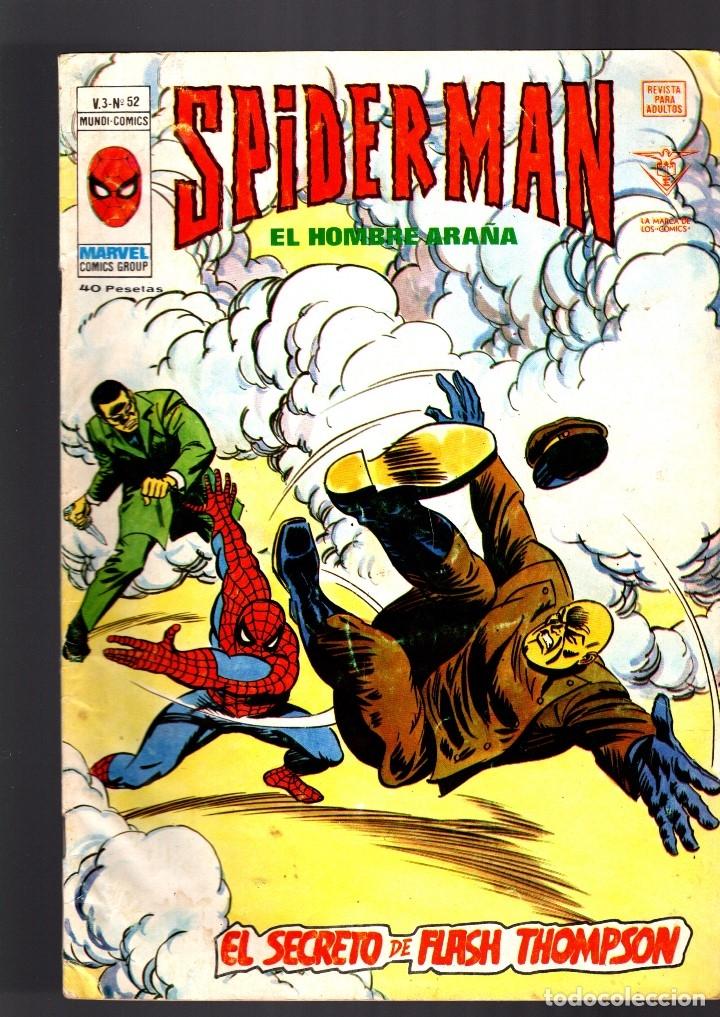 SPIDERMAN 52 VOL 3 - VERTICE VG+ (Tebeos y Comics - Vértice - V.3)