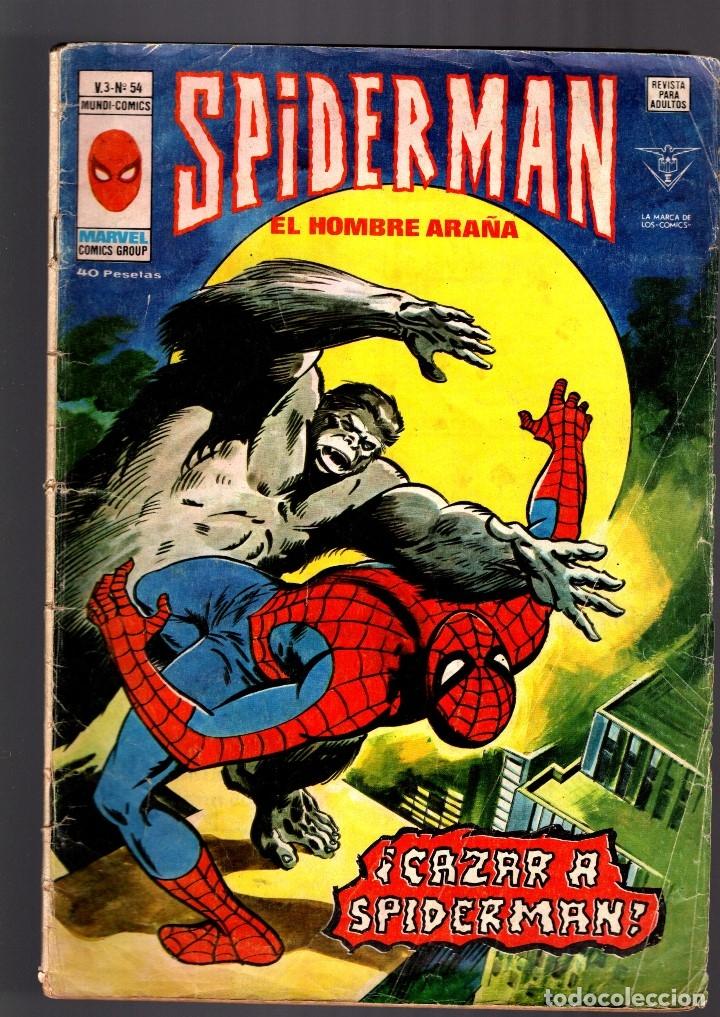 SPIDERMAN 54 VOL 3 - VERTICE VG- (Tebeos y Comics - Vértice - V.3)