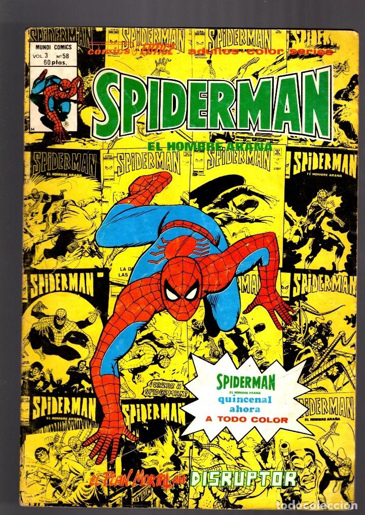 SPIDERMAN 58 VOL 3 - VERTICE VG (Tebeos y Comics - Vértice - V.3)