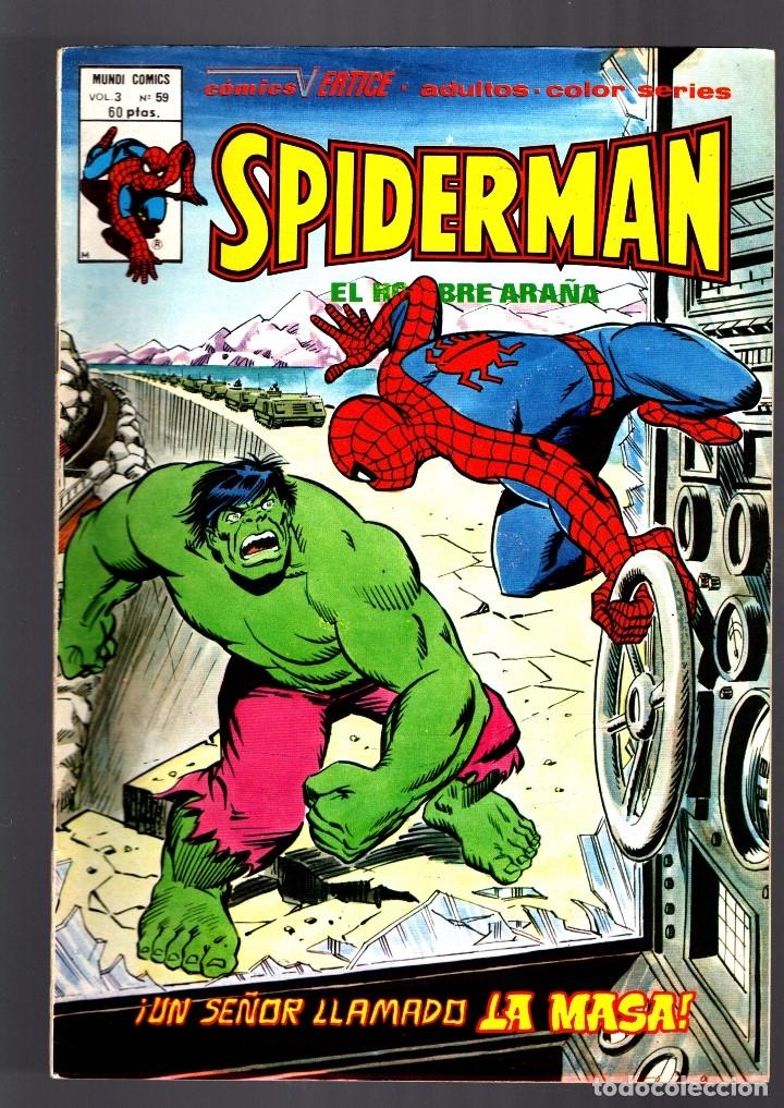 SPIDERMAN 59 VOL 3 - VERTICE FN+ / CONTRA LA MASA (Tebeos y Comics - Vértice - V.3)