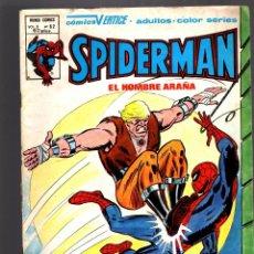 Cómics: SPIDERMAN 62 VOL 3 - VERTICE VG/FN / CONTRA EL HOMBRE LOBO. Lote 182061995