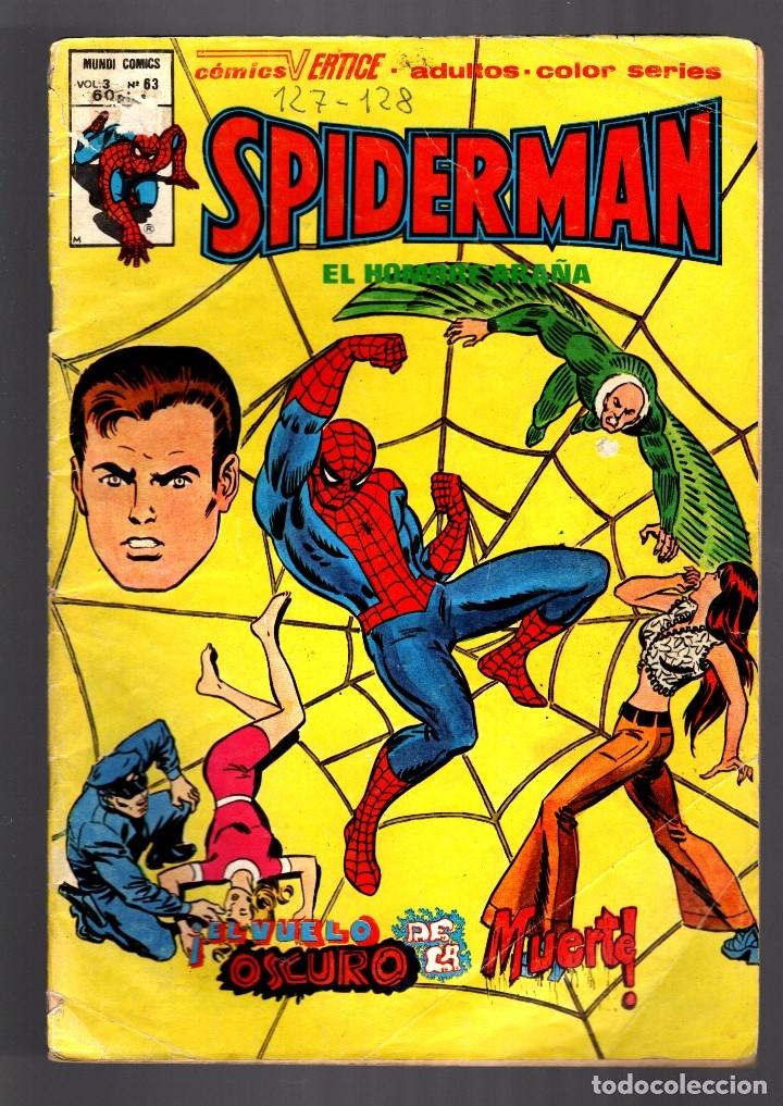 SPIDERMAN 63 VOL 3 - VERTICE VG- (Tebeos y Comics - Vértice - V.3)