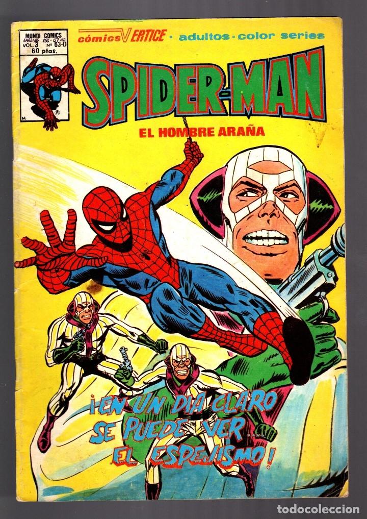 SPIDERMAN 63D VOL 3 - VERTICE VG (Tebeos y Comics - Vértice - V.3)