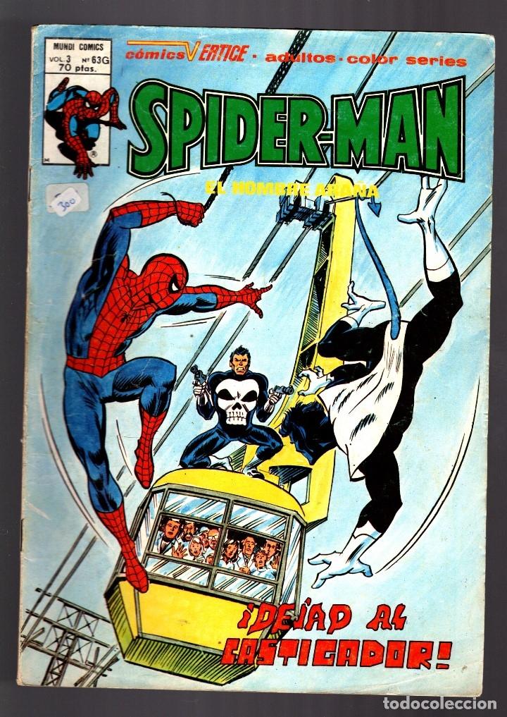 SPIDERMAN 63G VOL 3 - VERTICE VG/FN / CASTIGADOR / RONDADOR NOCTURNO (Tebeos y Comics - Vértice - V.3)