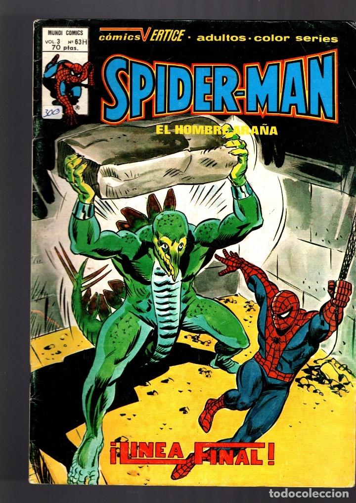 SPIDERMAN 63H VOL 3 - VERTICE FN (Tebeos y Comics - Vértice - V.3)