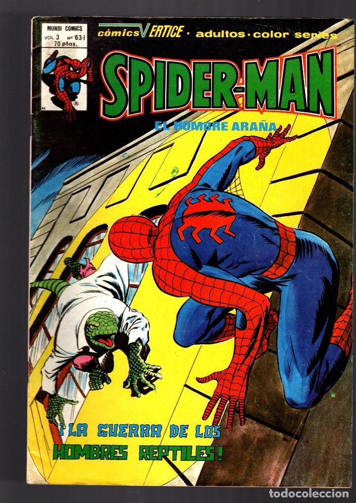 SPIDERMAN 63I VOL 3 - VERTICE FN+ (Tebeos y Comics - Vértice - V.3)
